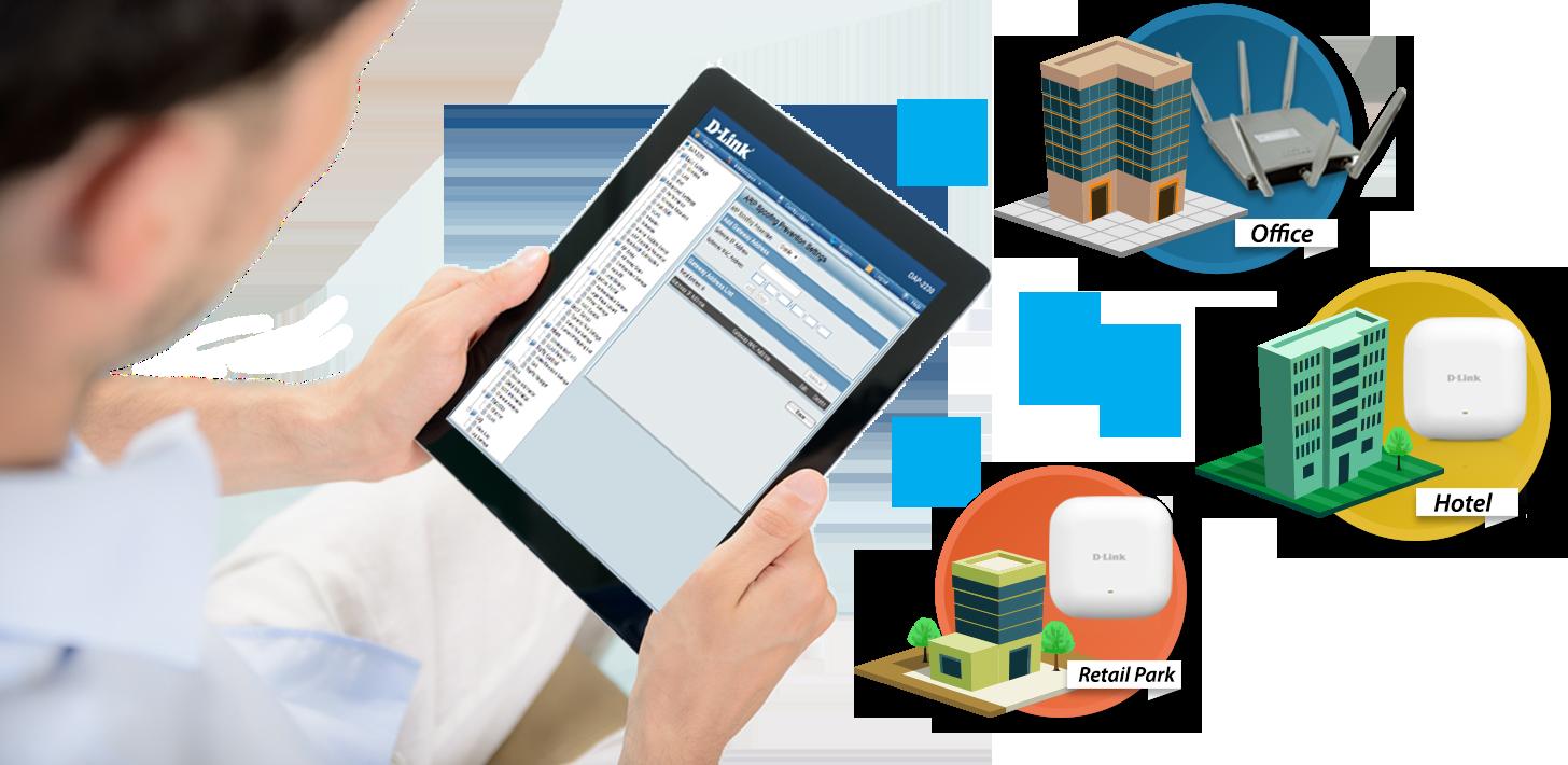DAP-2230 N300 Wireless PoE Network Management