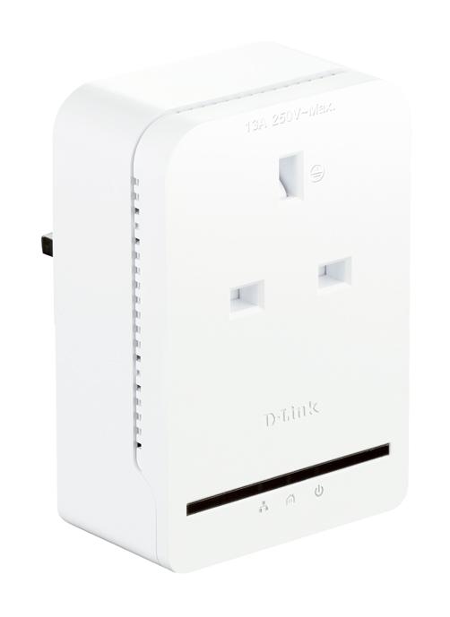 d-link dhp-p308av powerline av  passthrough adapter