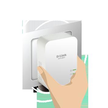 DHP-600AV No Cabling