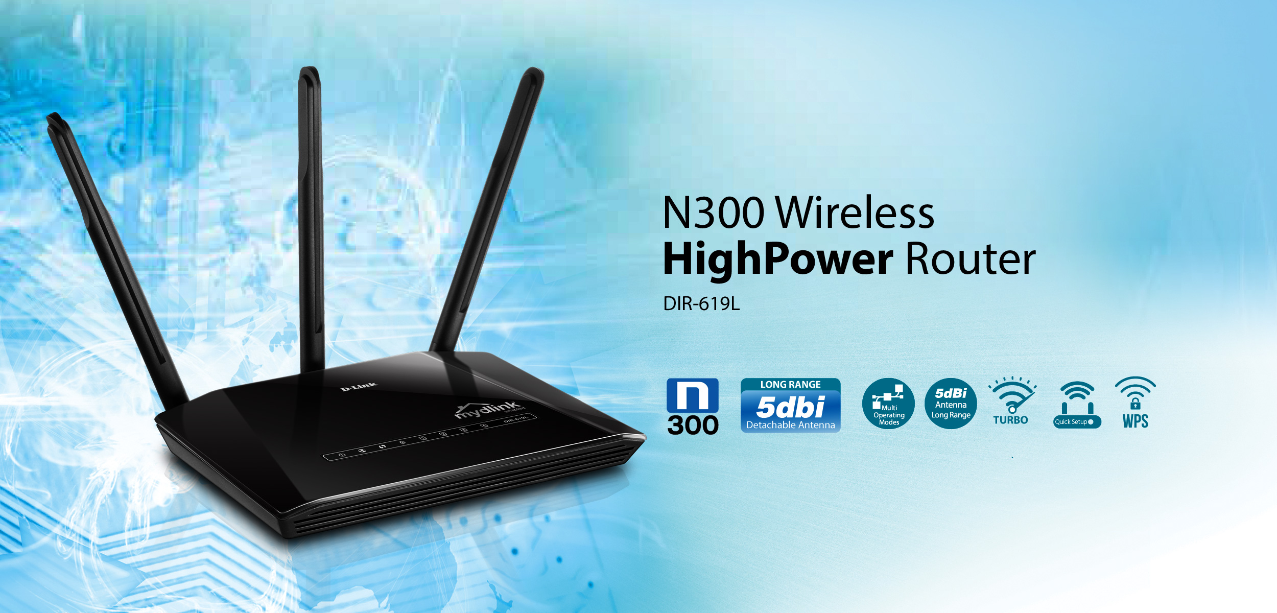 Dir 619l n300 high power wireless router singapore sciox Images