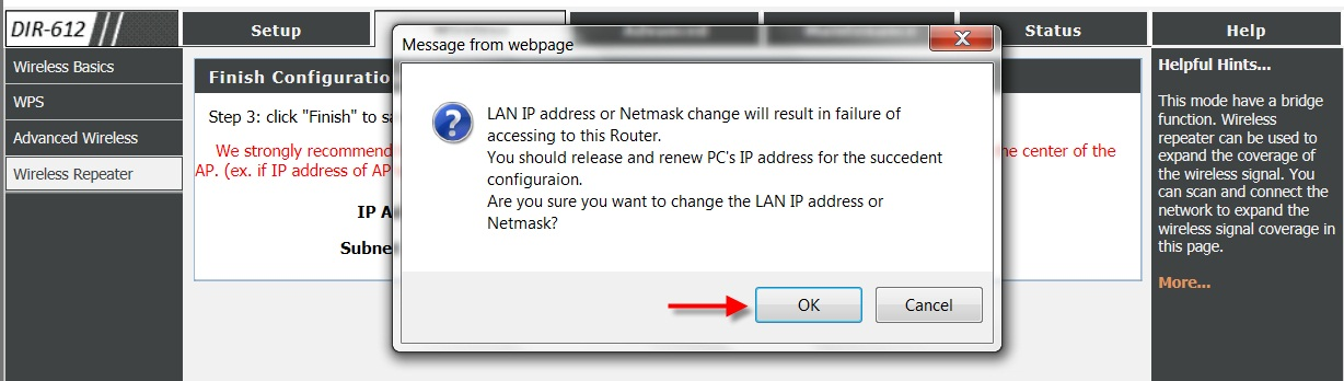 How to setup Repeater mode on my router? Indonesia