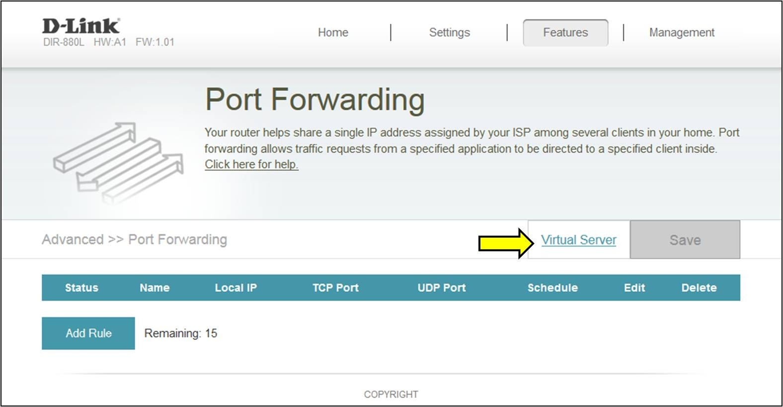 How do I open ports on my router? Malaysia