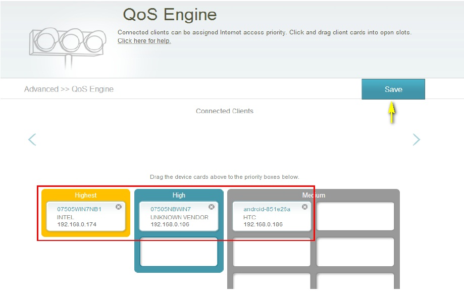 How to configure QoS(Quality of Service) setting? Malaysia