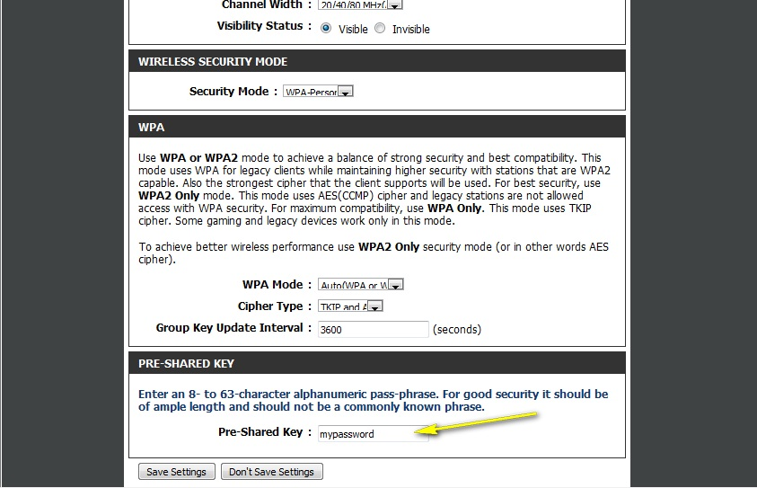 how to get password for wireless router