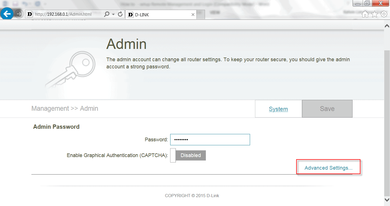 how to open my router settings