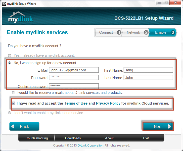 How to  Setting ...D Link Dcs 5222l Firmware