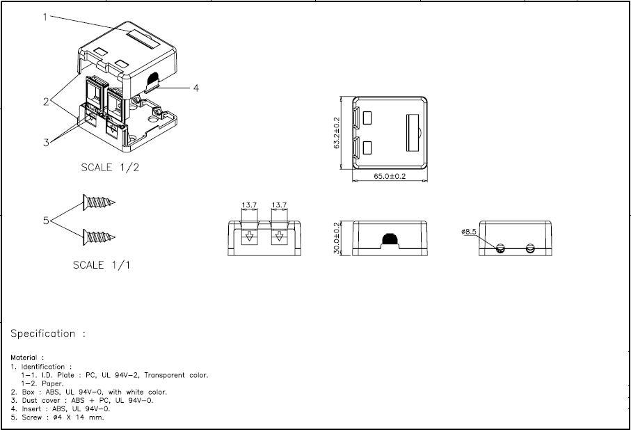 Dual Keystone Box