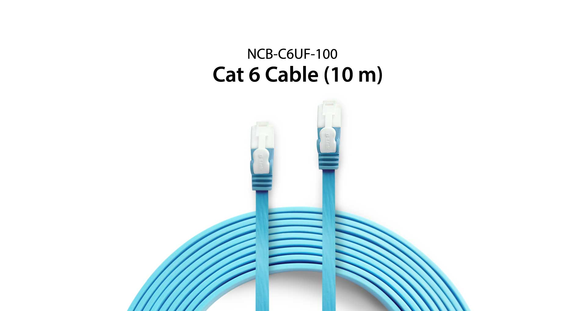 Ncb C6uf 100 Cat 6 Utp Flat Cable 100m Singapore