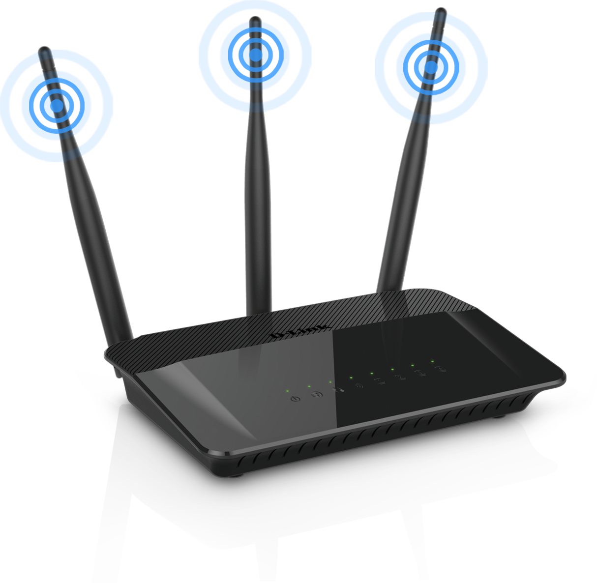 Router mode 3 antennas